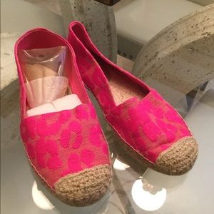Juicy Couture canvas loafers,slip on.